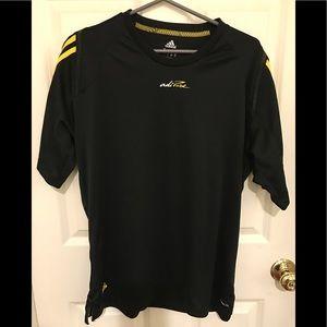 Adidas adipure black shirt. Size Large